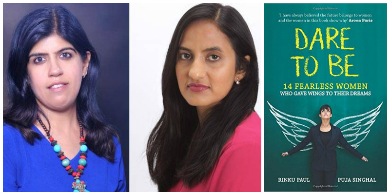 Authors Rinku Paul (L) and Puja Singhal (R)