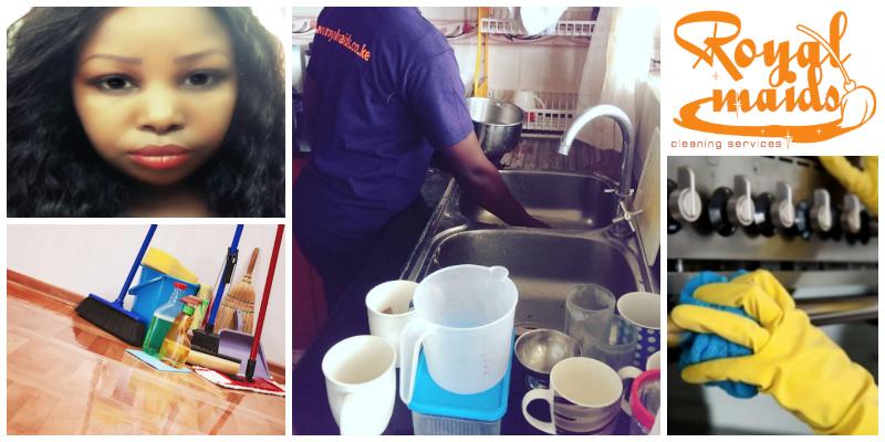 Sarah Munyiva , founder of Royal Maids Cleaning Services (Kenya)