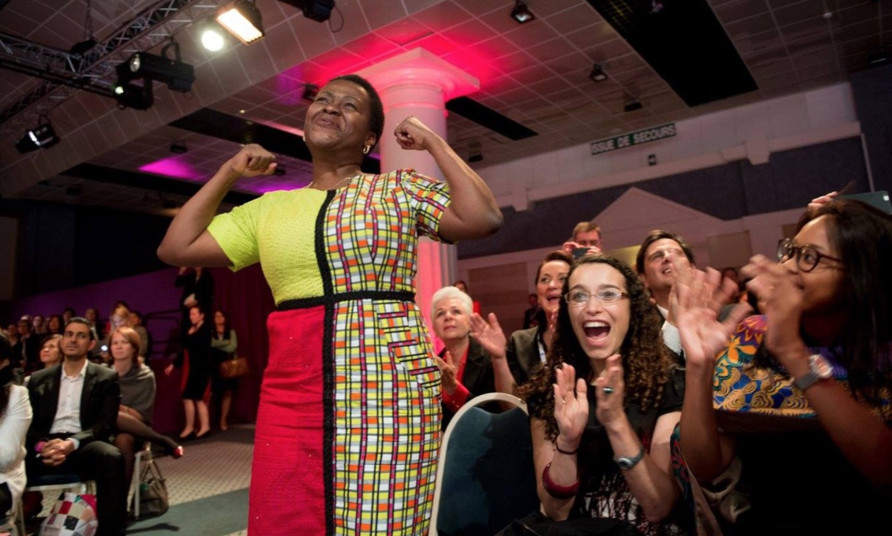 Chinwe Ohajuruka founder of Comprehensive Design Services announced as winner for sub-Saharan Africa at the 2015 Cartier Women's Initiative Awards Ceremony