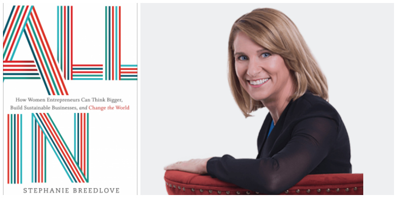 Stephanie Breedlove , entrepreneur & author