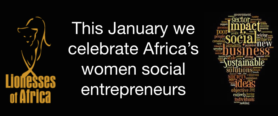 In celebration of Africa's game-changing women social