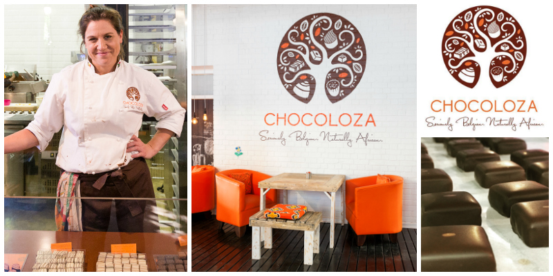 Vicki Bain , founder of  Chocoloza  (South Africa)