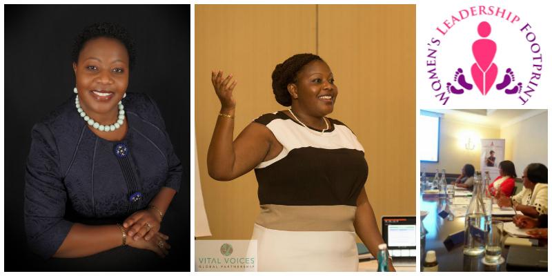Tamala Chirwa , founder of  Women's Leadership Footprint (Malawi)