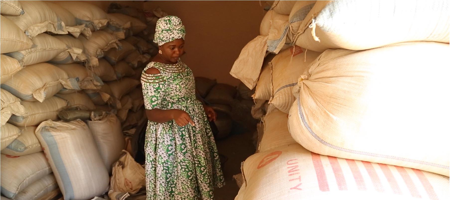 Salma Abdulai , founder of Unique Quality Product Enterprise (Ghana)