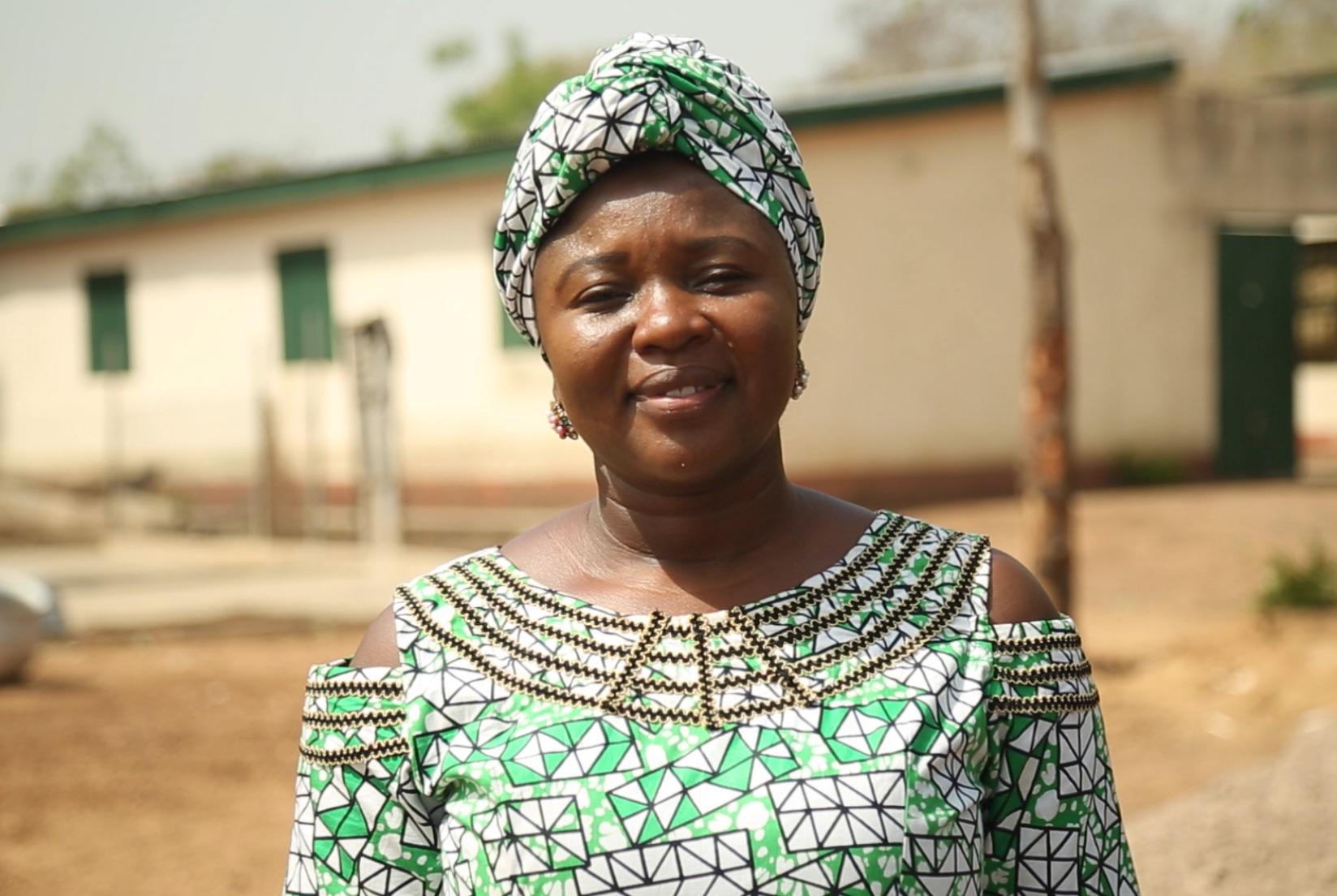 Salma Abdulai, founder of Unique Quality Product Enterprise (Ghana)