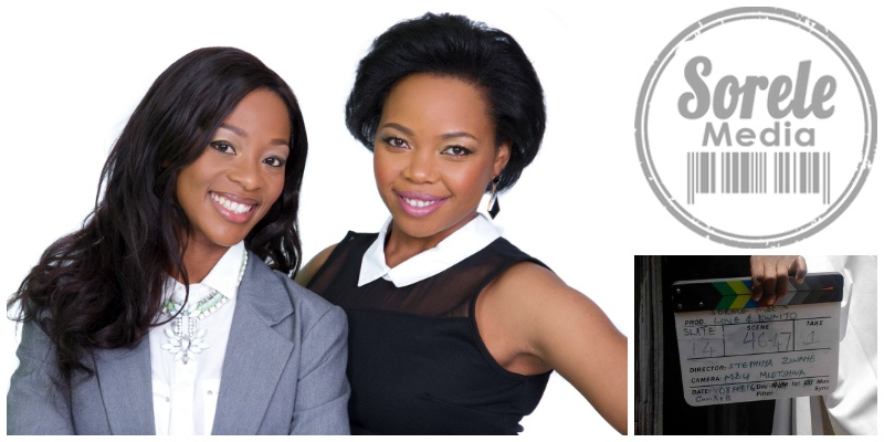 Stephina Zwane and Salamina Mosese , founders of  Sorele Media  (South Africa)