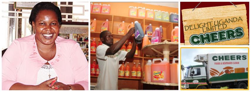 Julian Adyeri Omalla , founder of Delight Uganda