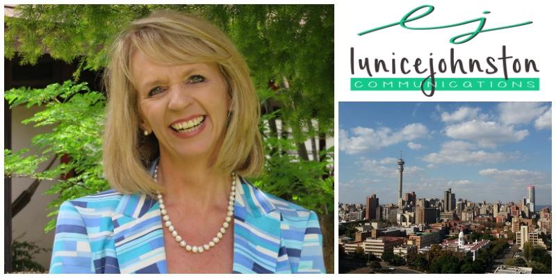Lunice Johnston,  founder of Lunice Johnston Communications (South Africa)