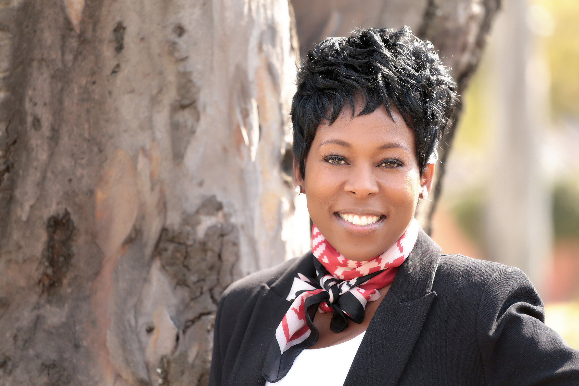 Tumi Frazier, entrepreneur,professional speaker, author, TV personality (South Africa)