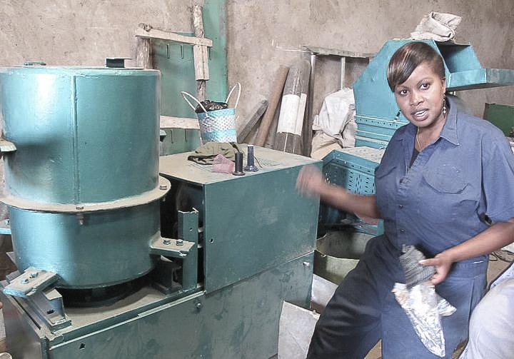 Lorna Rutto , founder of  EcoPost  (Kenya)
