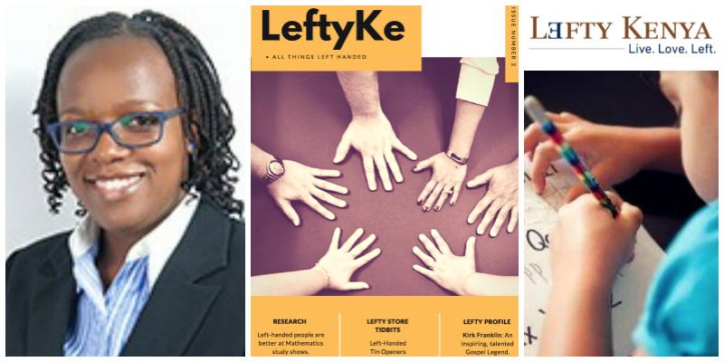 Linda Makatiani , founder of Lefty Kenya