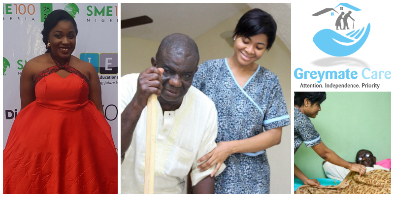 Chika Madubuko , founder of  Greymate Care  (Nigeria)