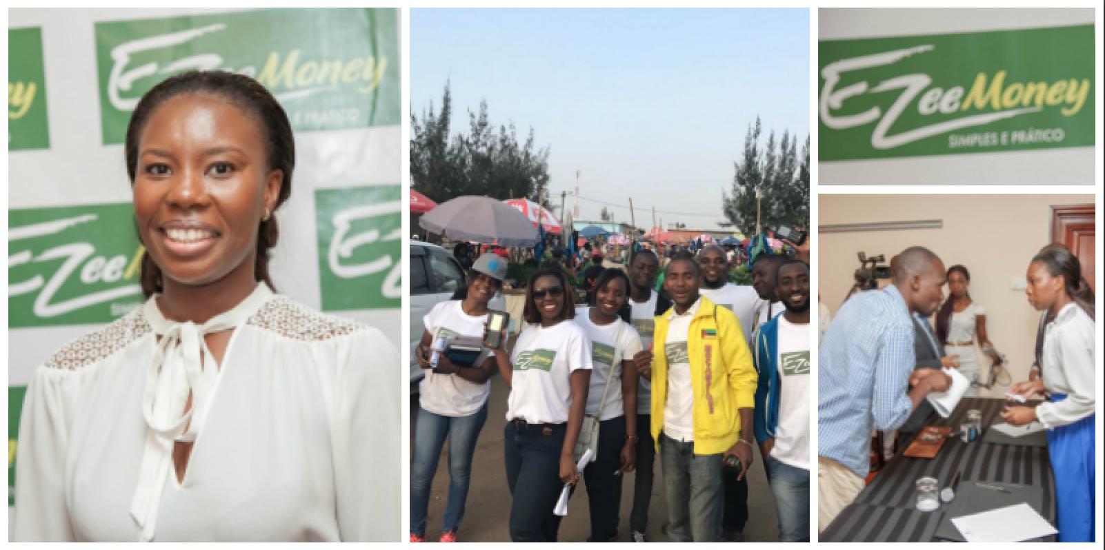 Evandra Cossa , founder of Ezee Money (Mozambique)