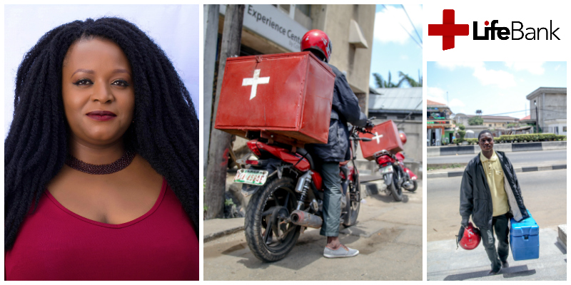 Temie Giwa-Tubosun , founder of Lifebank (Nigeria)