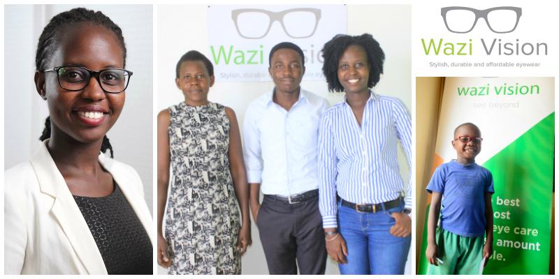 Brenda Katwesigye , founder of  Wazi Vision (Uganda)