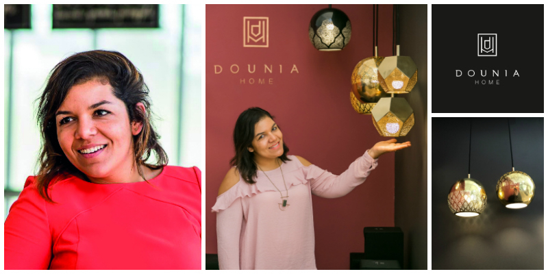 Dounia Tamri-Loeper , founder of  Dounia Home