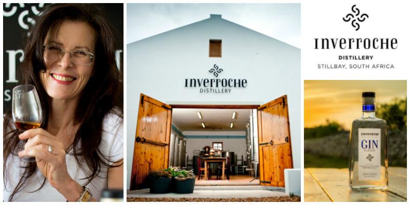 Lorna Scott , founder of  Inverroche Distillery  (South Africa)