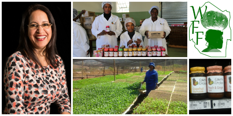 Sonia Paiva , founder of Woman Farmer Foundation &  Eswatini Kitchen  (Swaziland)