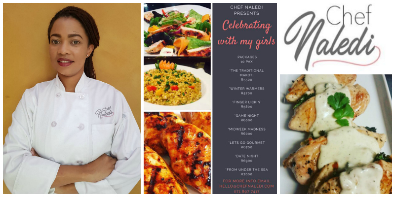 Chef Naledi , Private Chef and Cooking Instructor (South Africa)
