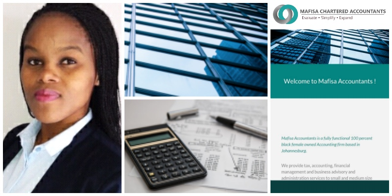 Hlobisile Shoba , founder  Mafisa Chartered Accountants  (South Africa)