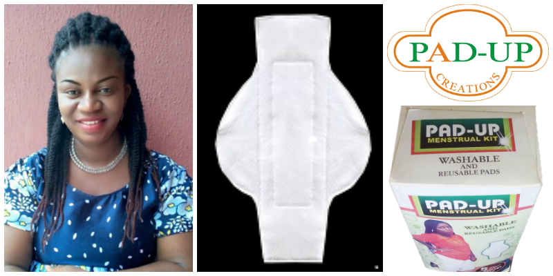 Olivia Onyemaobi , founder of  Pad-Up Creations  (Nigeria)