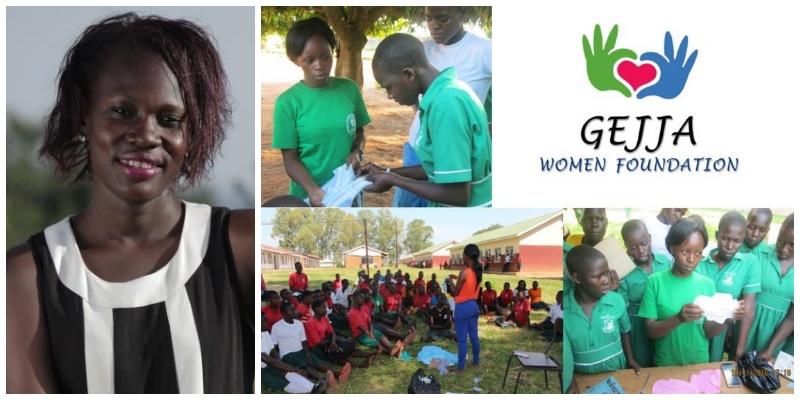 Marjorie Atuhurra , founder of  Gejja Women Foundation  (Uganda)