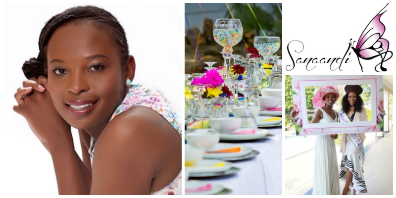 Masana Sangweni , founder of  Sanaandi Events & Hospitality  (South Africa)