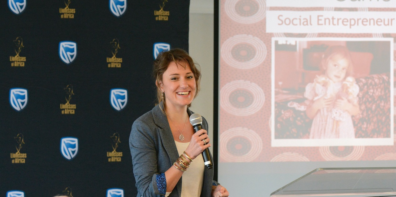 Carrie Leaver , co-founder of Stoep Startup Co-Working & Stay (South Africa)