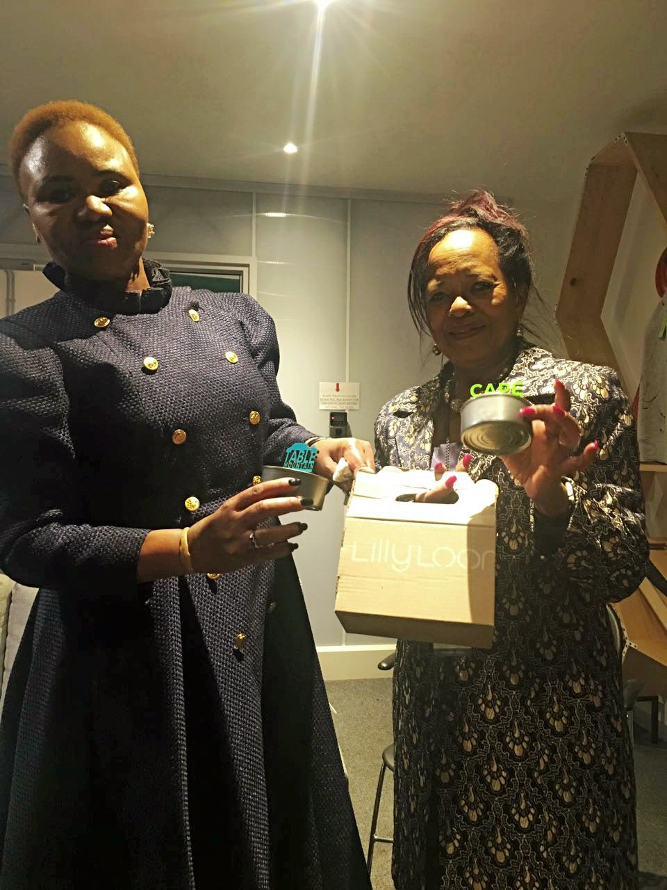 Lindiwe Zulu, South African Minister of Small Business