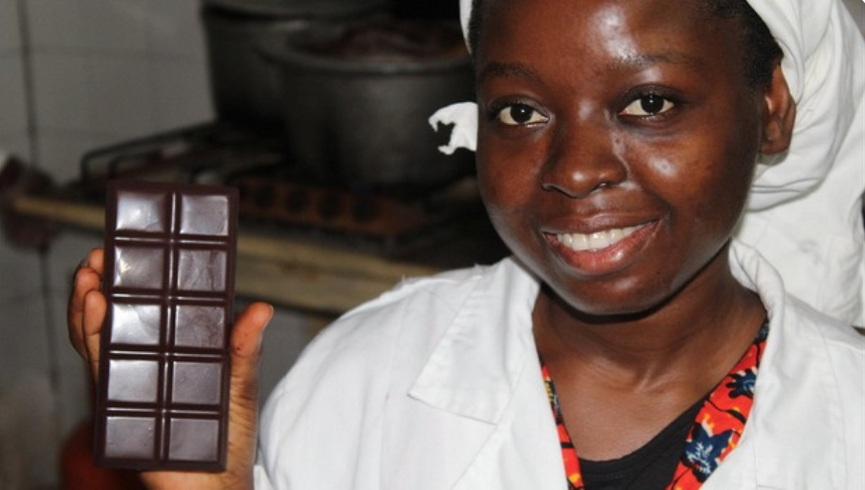 Nathalie Kpanté, founder of Choco-Togo (Togo)