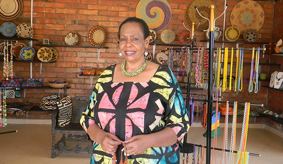 Joy Ndungutse , co-founder  Gahaya Links  (Rwanda)