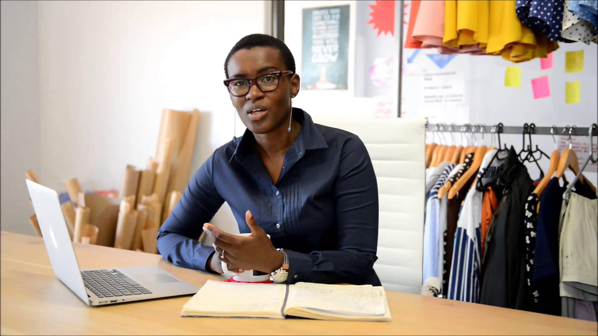 Ally Angula, co-founder of  Leap Holdings  (Namibia)