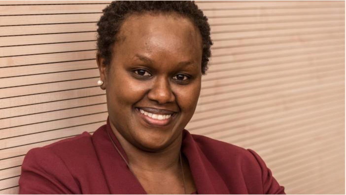 Dorcas Muthoni , founder of    Open World Ltd (Kenya)