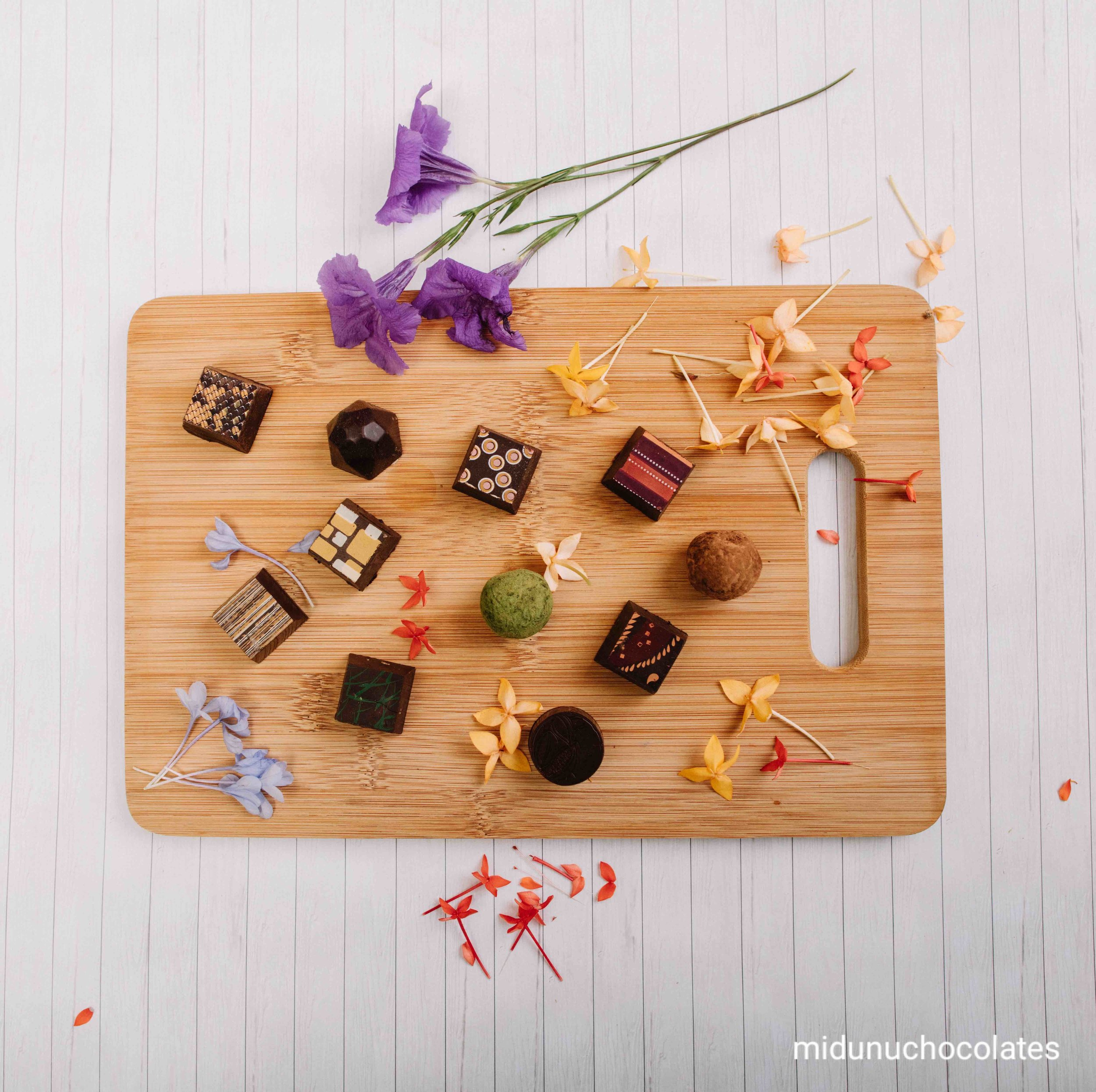 Midunu Chocolates flowers.jpg