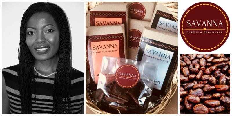 Chiinga Musonda , co-founder of Savanna Premium Chocolate (Zambia)