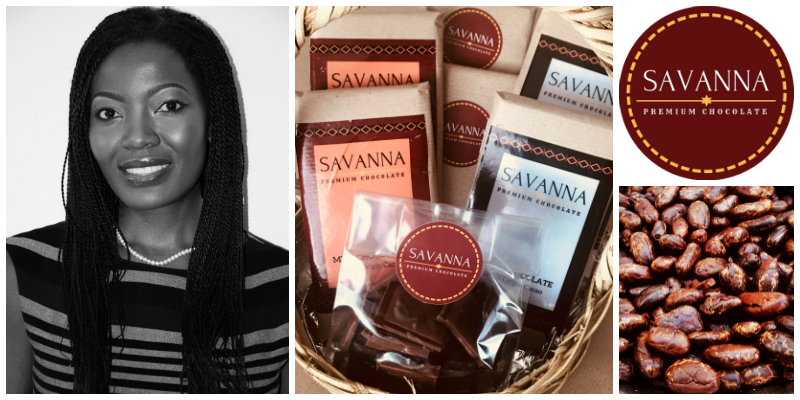 Chiinga Musonda, co-founder of Savanna Premium Chocolate (Zambia)
