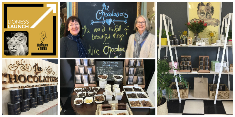 Melanie Finch-Keshwar & Ann Finch , co-founders of The Chocolatiers (South Africa)