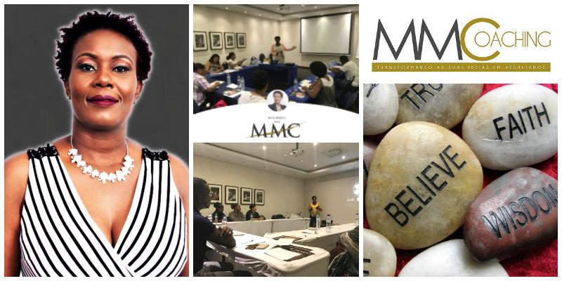 Marta Mulongo , founder of MMCoaching (Mozambique)