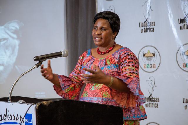 Hon. Elizabeth Phiri, Minister of Gender