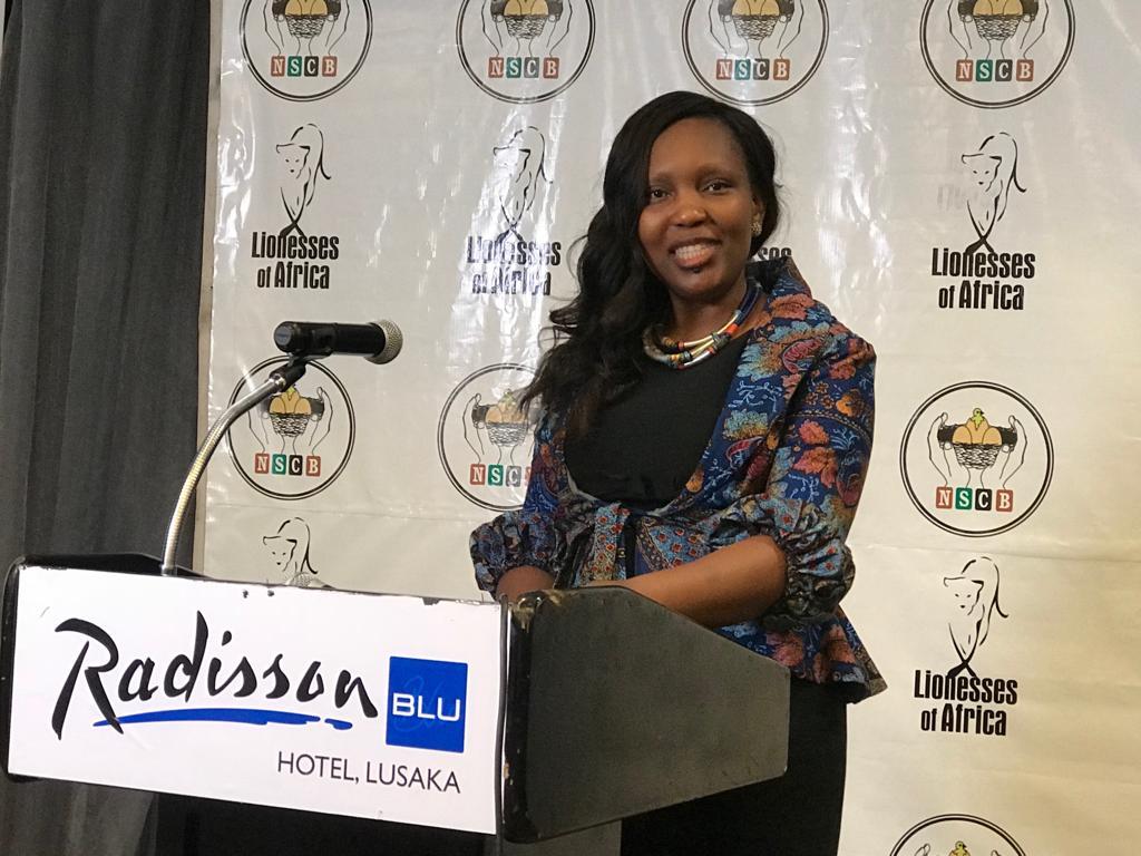 Mukwandi Chibesakunda, CEO, NATSAVE
