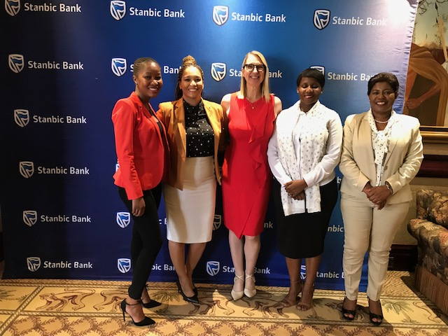Stanbic Bank Botswana organizing team