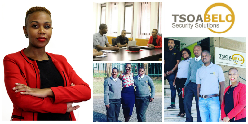Ntsoaki Kortjass, founder of  Tsoabelo Security Solutions  (South Africa)