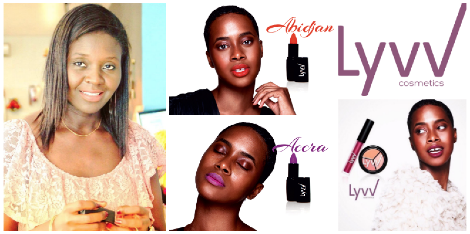 Victorine Sarr, founder of  Lyvv Cosmetics  (Senegal)