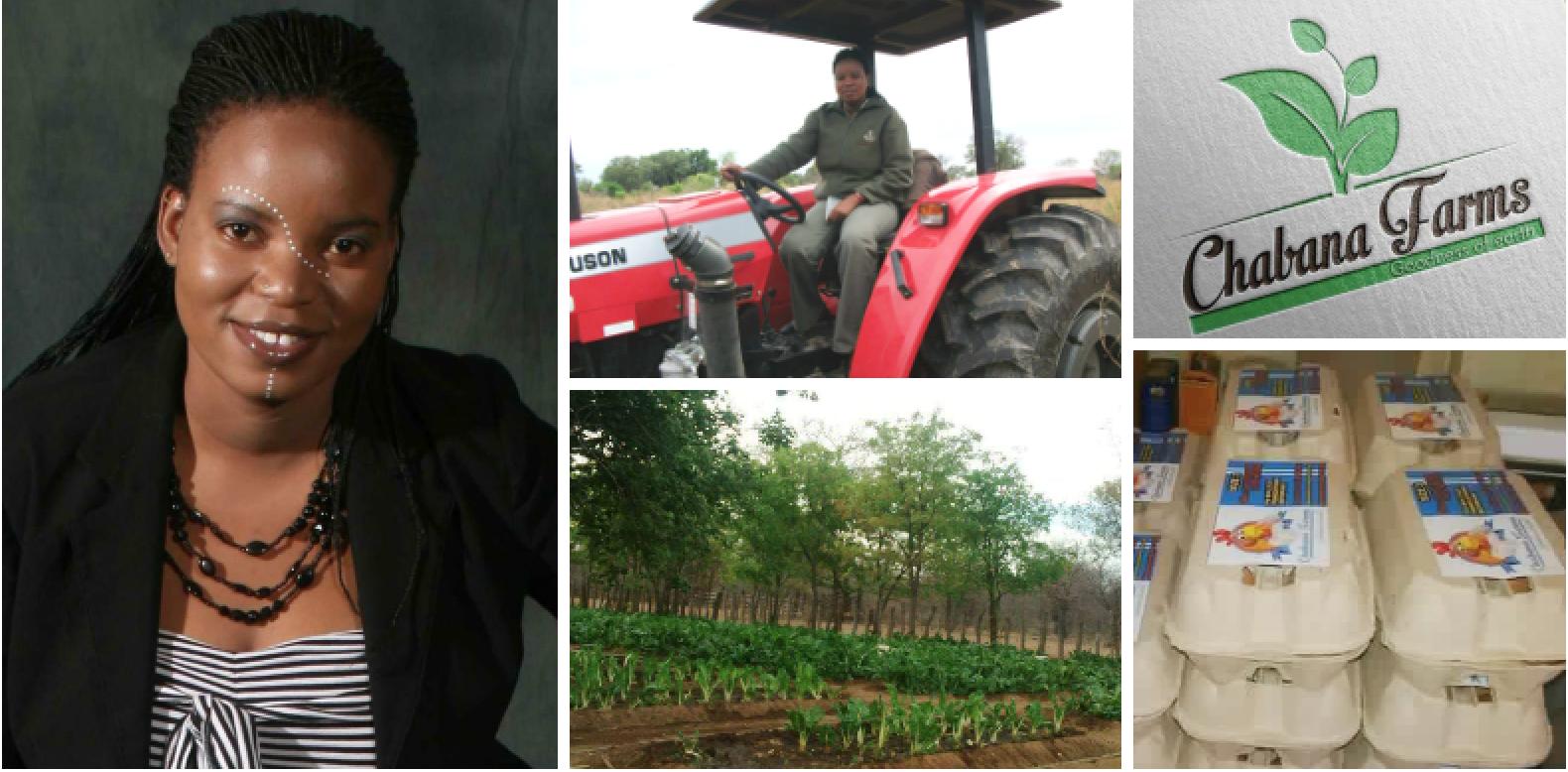 Mavis Nduchwa , founder of  Chabana Farms  (Botswana)