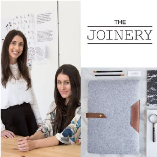NATALIE & KIM ELLIS, founders, The Joinery (South Africa) - The Joinery is focused on finding sustainable solutions to environmental and community issues through design and product development. They have conceptualised trail blazing fabrics made from recycled plastic bottles, saving bottles from landfill and turning them into beautiful products and gifts.