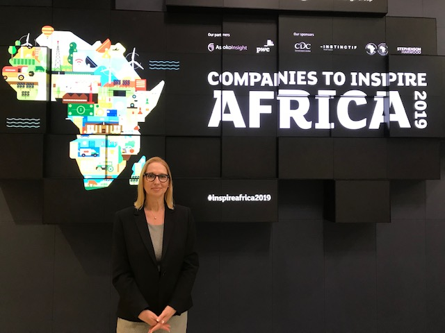 Melanie Hawken, founder and ceo, Lionesses of Africa