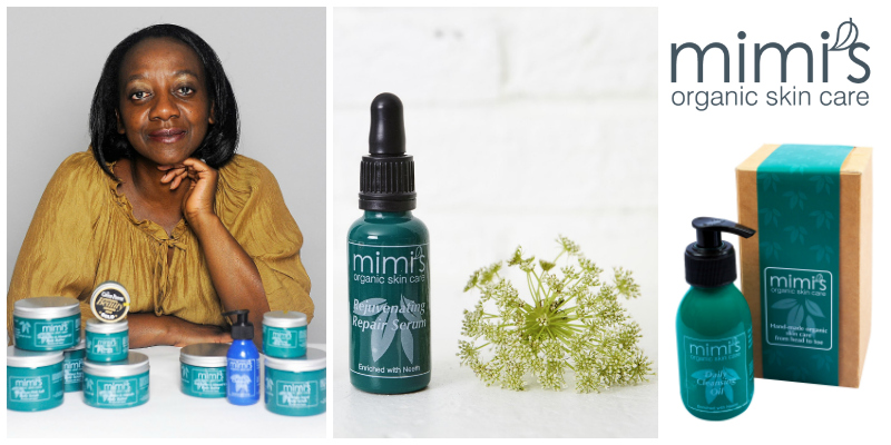 Rumbi Serima-Fowler , founder of Mimi's Organics Ltd (UK/Zimbabwe)