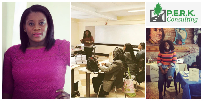 Andrena Sawyer , founder of  P.E.R.K. Consulting  (Sierra Leone)