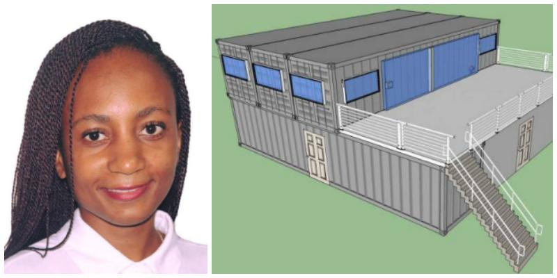 Marta Vânia Uetela , founder of Minimal (Mozambique)