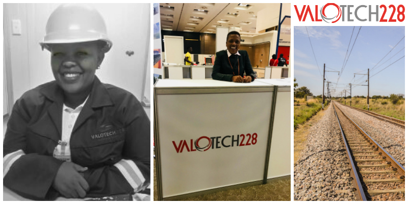 Dorothy Mofomme , founder of  Valotech228  (South Africa)
